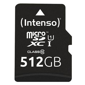 Intenso Speicherkarte microSDXC-Card PREMIUM 512 GB