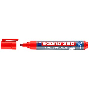 10 edding 360 Whiteboard-Marker rot 1,5 - 3,0 mm