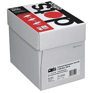 dots Kopierpapier office 800 DIN A4 75 g/qm 2.500 Blatt Maxi-Box