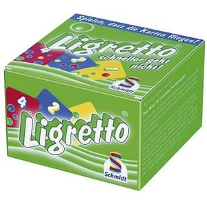 Schmidt Ligretto grün Kartenspiel