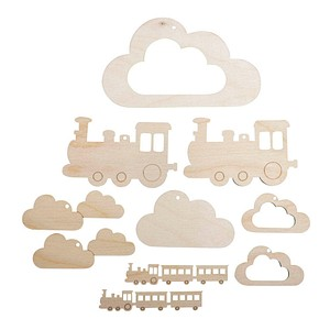 Rayher Mobile-Anhänger Zug
