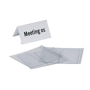 10 DURABLE Tischaufsteller für 10,0 x 5,2 cm