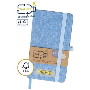ONLINE® Notizbuch 2nd Life A5 punktraster
