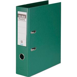 ELBA rado plast Ordner grün Kunststoff 8,0 cm DIN A4