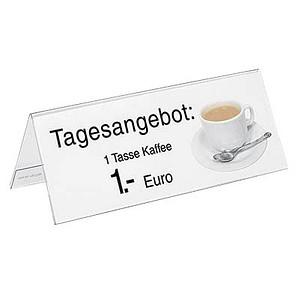 5 SIGEL Tischaufsteller für 24,0 x 9,0 cm TA130