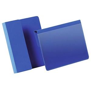 50 DURABLE Kennzeichnungstaschen blau