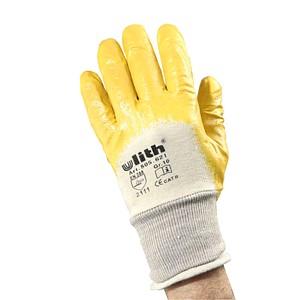 Ulith unisex Arbeitshandschuhe gelb Größe 10 12 Paar