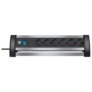Steckdosenleiste mit Schalter Alu-Office-Line von brennenstuhl