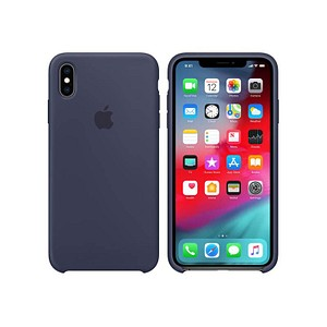 Apple Handy-Cover f uuml r Apple iPhone XS Max blau