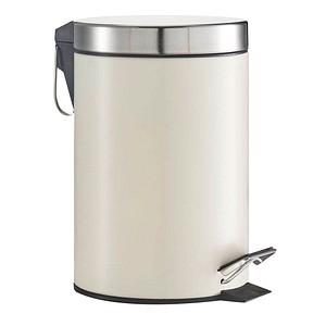 Zeller Mülleimer 3,0 l creme