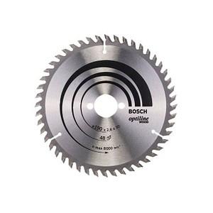 BOSCH 190x30 48D Kreissägeblatt für Holz