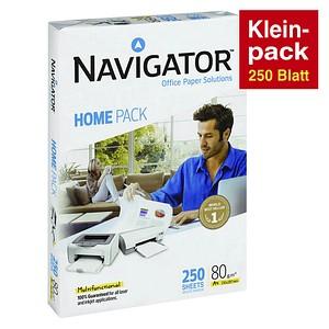 NAVIGATOR Kopierpapier HOME PACK 80 g/qm 250 Blatt