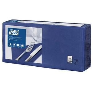 150 TORK Servietten Soft blau