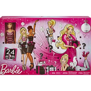 neutral Adventskalender Barbie