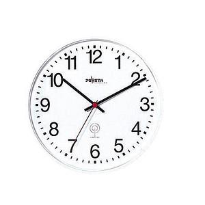 PEWETA Funkwanduhr weiß 30,0 cm Kunststoff