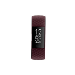 FitBit charge 4 Fitnesstracker bordeaux FB417BYBY