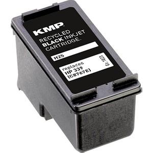 KMP H25 schwarz Tintenpatrone ersetzt HP 339 (C8767E)