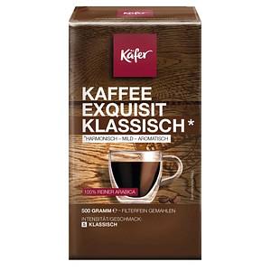 Käfer Exquisit Klassisch Kaffee, gemahlen 500,0 g