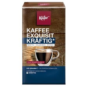 Käfer Exquisit Kräftig Kaffee, gemahlen 500,0 g