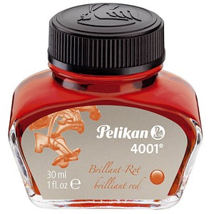 Pelikan 4001 Tintenfass brillantrot 30,0 ml
