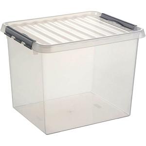 sunware Q-line Aufbewahrungsbox 52,0 l transparent 50,0 x 40,0 x 38,0 cm