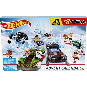 neutral Adventskalender Hot Wheels