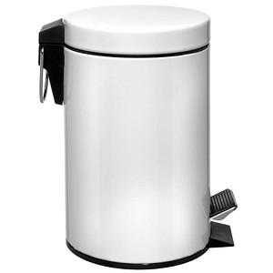 Zeller Mülleimer 3,0 l weiß