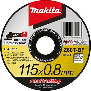 makita Trennscheibe B-45727 für Metall