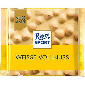 Ritter SPORT WEISSE VOLL-NUSS Schokolade 100,0 g