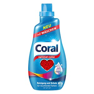 Coral optimal color Waschmittel 1,1 l
