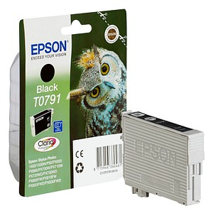 EPSON T0791 schwarz Tintenpatrone