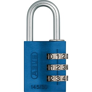 ABUS Vorhängeschloss ABUS 145/30 blau