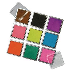 Rayher Stempelkissen Scrapbooking-Set 9 Farbtöne 7854149