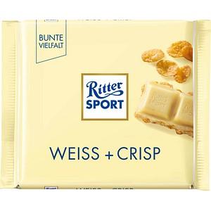 Ritter SPORT WEISS + CRISP Schokolade 100,0 g