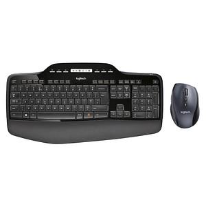 Logitech Wireless Desktop MK710 Tastatur-Maus-Set kabellos 920-002420