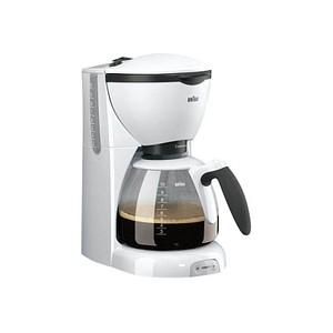 BRAUN KF 520/1 Kaffeemaschine weiß