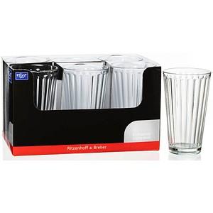 6 Ritzenhoff & Breker Gläser LAWE KLAR