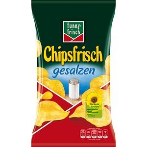 funny-frisch Chipsfrisch gesalzen Chips 175,0 g