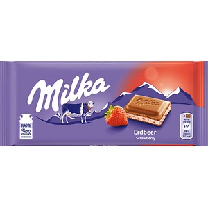 Milka Erdbeer Schokolade 100,0 g