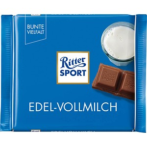 Ritter SPORT EDEL-VOLLMILCH Schokolade 100,0 g