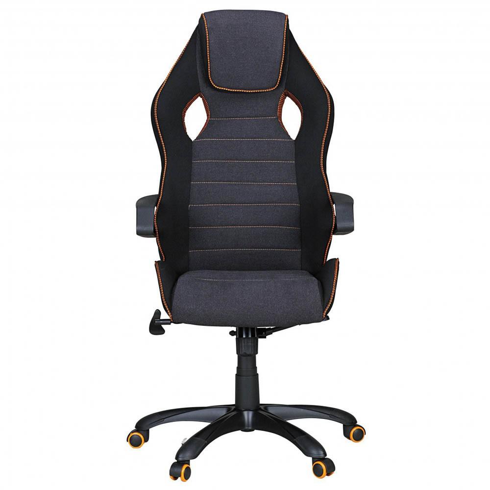 schwarzer Bürostuhl mit Wipptechnik