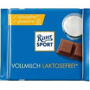 Ritter SPORT VOLLMILCH LAKTOSEFREI Schokolade 100,0 g