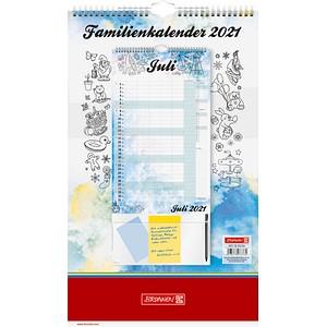 BRUNNEN Familienkalender Team- und Familienkalender 2021 51-70284001