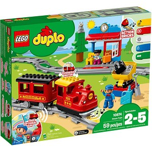 LEGO® Duplo 10874 Dampfeisenbahn Bausatz