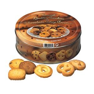 neutral Dänische Butter- und Schokoladen-Kekse Kekse 500,0 g