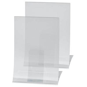 2 SIGEL Tischaufsteller für DIN A4