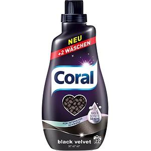 Coral BLACK VELVET Waschmittel 1,1 l