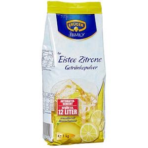 KRÜGER Eistee Zitrone Getränkepulver 1,0 kg