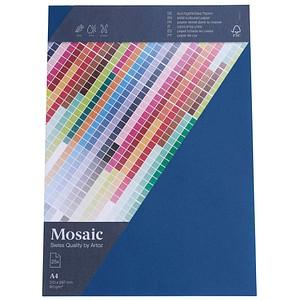 artoz Briefpapier Mosaic marine DIN A4 90 g/qm 25 Blatt 947925-418