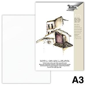 folia Aquarellblock SCHULE A3 8353